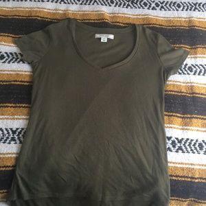 green olive shirt
